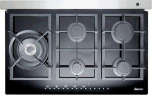 "DACOR 36"" TouchTop Gas Cooktop with 5 Sealed Burners - UNCRATED"