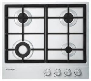 "FISHER & PAYKEL 24"" COOKTP Gas Cooktop with 4 Sealed Burners - UNCRATED"