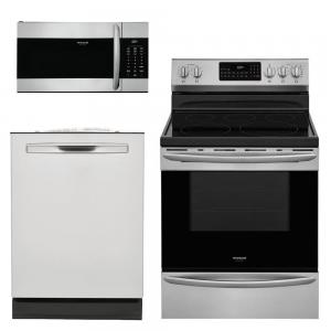 Gallery 3-Piece Kitchen Suite Package (w/ Electric Range)