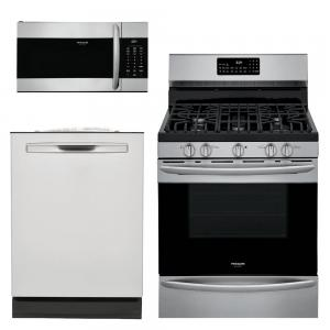 Gallery 3-Piece Kitchen Suite Package (w/ Gas Range)