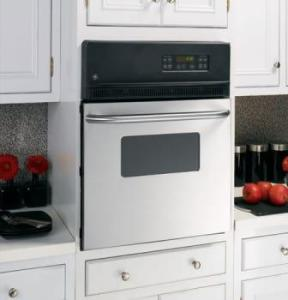"""GE 24"""" Single Electric Wall Oven with 2.7 cu. ft SS - UNCRATED"""