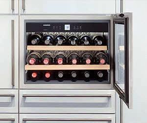 LIEBHERR Built-In Wine Cabinet with 18 Bottle Capacity - UNCRATED