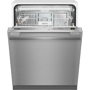 Miele Fully-integrated Dishwasher w/ hidden control panel, cutlery tray and CleanTouch