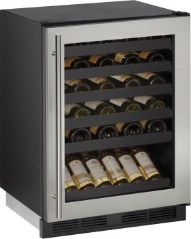 """U-LineUline 24"""" Built-In Wine Storage With 48 Bottle Capacity - Uncrated"""