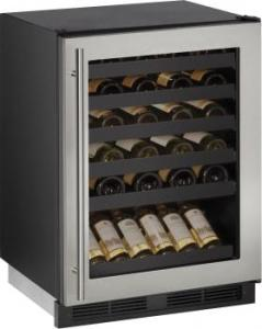"""ULINE 24"""" Built-In Wine Storage with 48 Bottle Capacity - UNCRATED"""