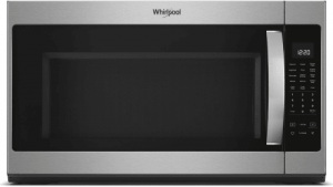 "WHIRLPOOL 30"" 2.1CF OTR STEAM 400CFM SS"